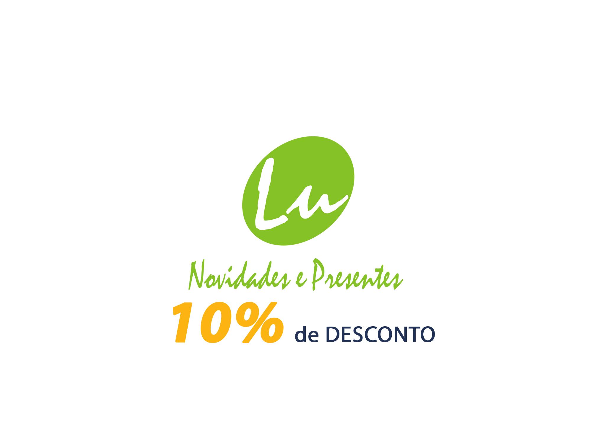 Lu Novidades 10% OFF